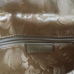 Desmo Bags - DESMO GOLD LACE CLUTCH NWOT